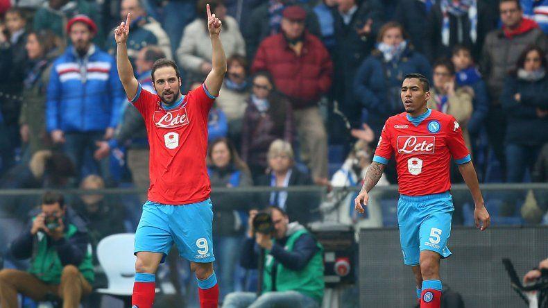 El Pipita metió 21 goles en 21 fechas disputadas. El Bati y Crespo fueron goleadores con 26 anotaciones.