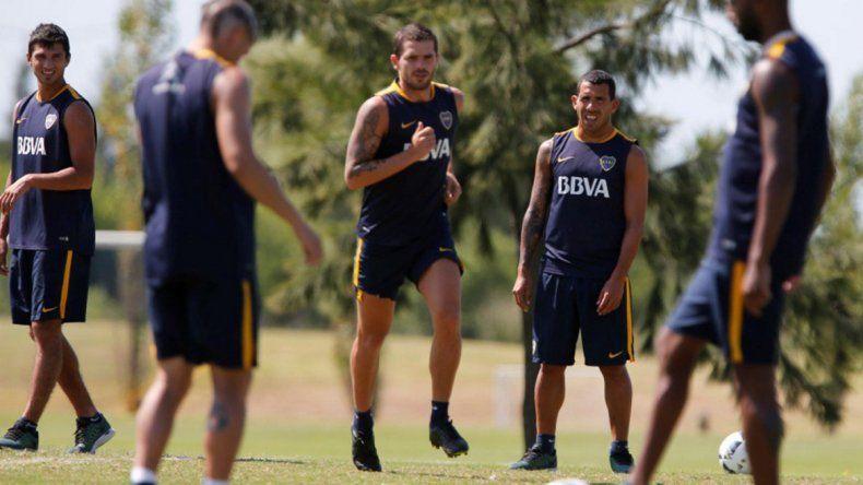 Una buena para Boca: Gago vuelve a concentrar