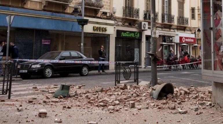 Sorprendió intenso sismo entre Marruecos y España