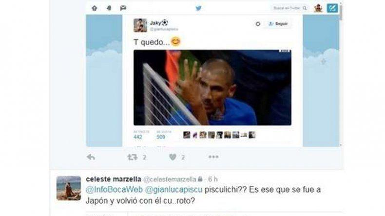 Repercusión en las redes: las mujeres del Cata Díaz y de Leonardo Pisculichi se cruzaron mal por Twitter.