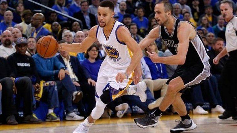 El huracán Curry arrasó a los Spurs de Ginobili