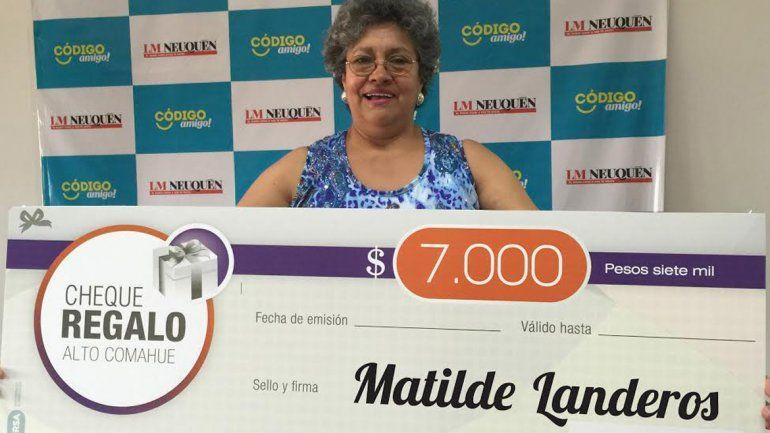 Matilde y Pablo disfrutarán de los $7 mil en el shopping