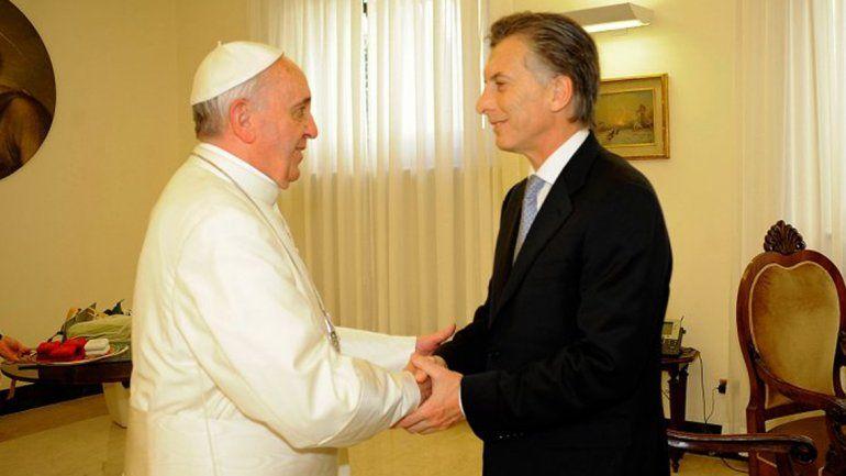 Macri será recibido por el Papa el 27 de febrero