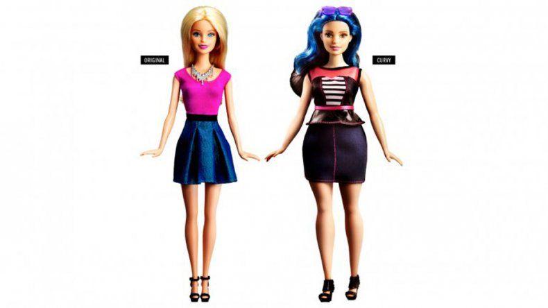 Tras las críticas, reinventan la muñeca Barbie con cuerpos reales