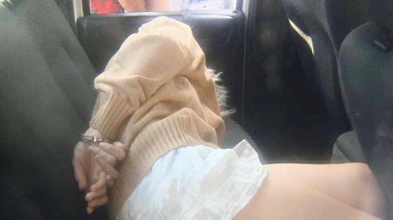 La sospechosa fue arrestada junto a su pareja en el balneario de Santa Teresita. Ahora está internada.