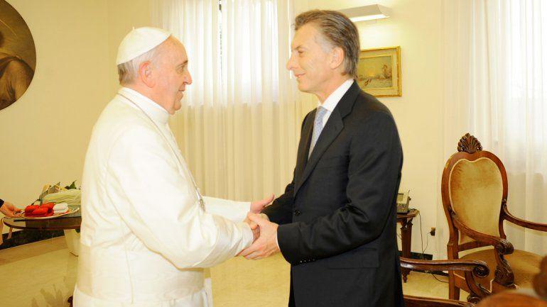El actual presidente cultivó una relación fluida con el entonces cardenal Bergoglio.
