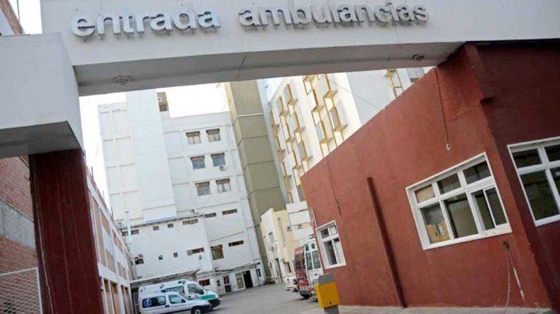 El hombre fue trasladado al hospital Castro Rendón.