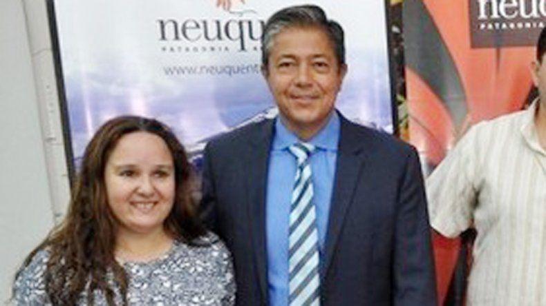 Figueroa participó del lanzamiento del festejo.