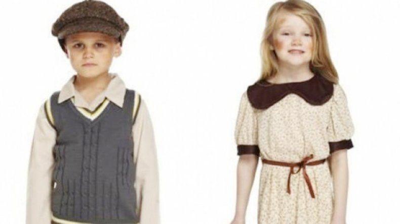 Los disfraces corresponden a la posguerra de 1945.