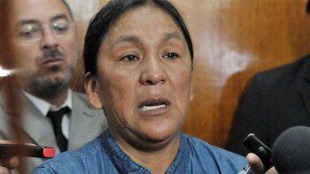 Milagro Sala, la líder de la organización social jujeña Tupac Amaru.