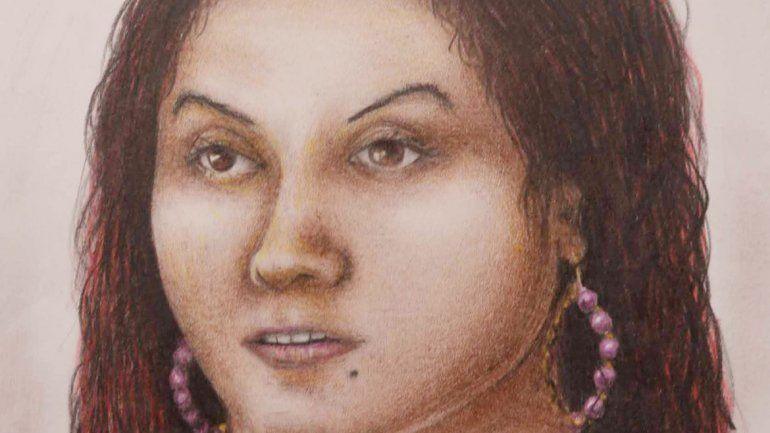 El identikit de Rosario Giménez Ortiz difundido por la fiscalía.
