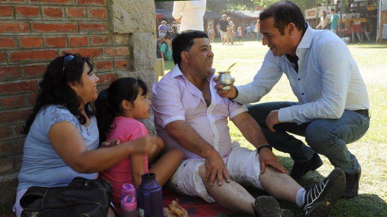 Omar Gutiérrez recorrió la Expo Rural, que termina hoy en Junín de los Andes