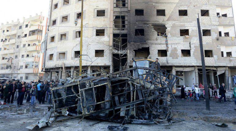 Terrible atentado en Siria