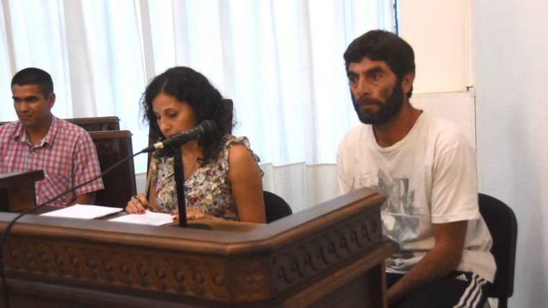 El acusado de homicidio Ramón Ernesto Narambuena durante la audiencia.