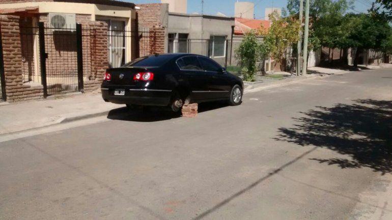 Los robarruedas ahora atacan en el Oeste de la ciudad