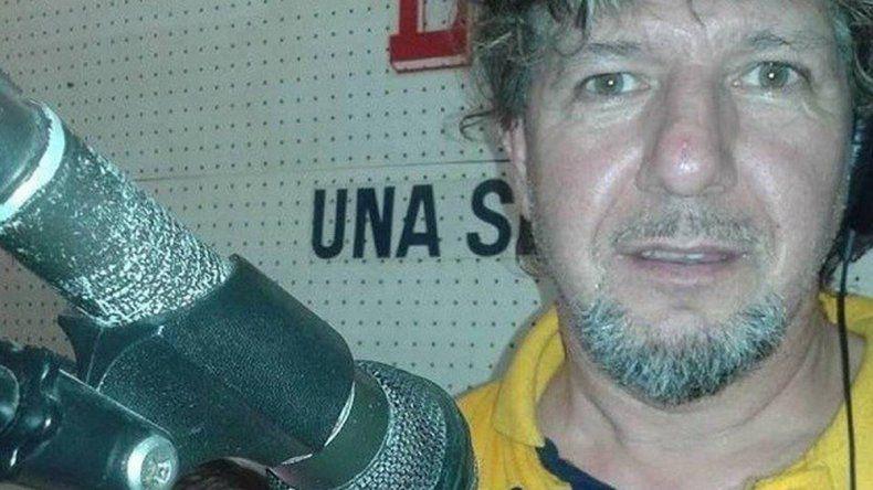 Ricardo Lazarte. El locutor conducía el programa La caravana tropical.