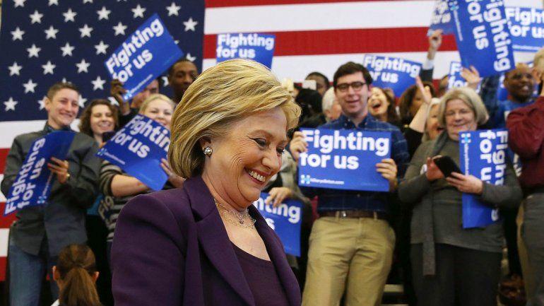 Hillary Clinton sufrió más de la cuenta para ganar en Iowa.