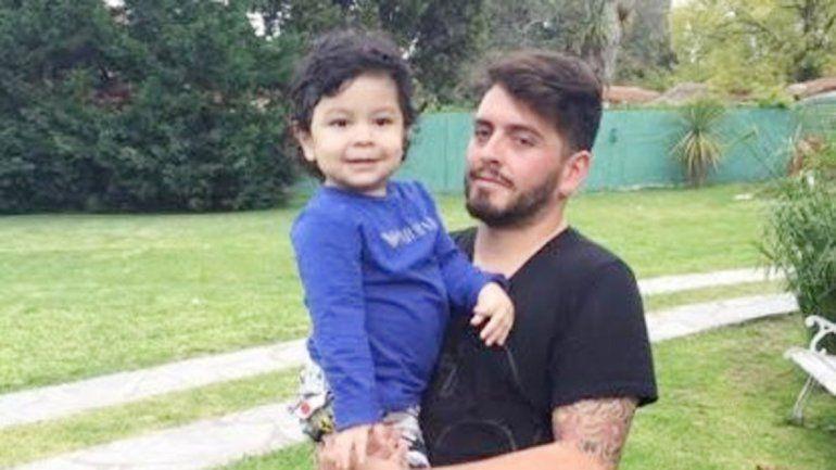 Diego Junior y Dieguito Fernando se conocieron en noviembre.