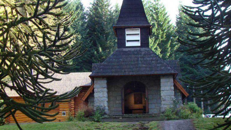La capilla de la Asunción del Puerto fue el blanco de los delincuentes.