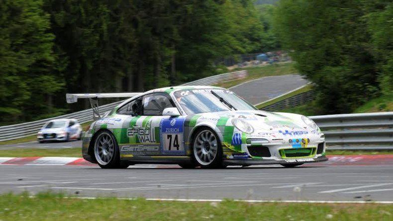 El año pasado Camilo hizo su debut en las 24 Horas de Nürburgring.