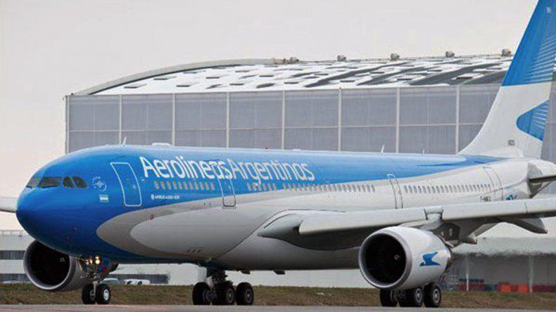 Figueroa recibirá al avión de Aerolíneas con la nueva tecnología