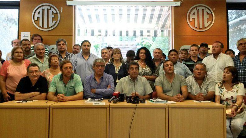ATE anunció una huelga general con movilizaciones en todo el país