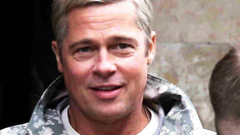 Así está lookeado Brad Pitt para interpretar al general Dan McMahon