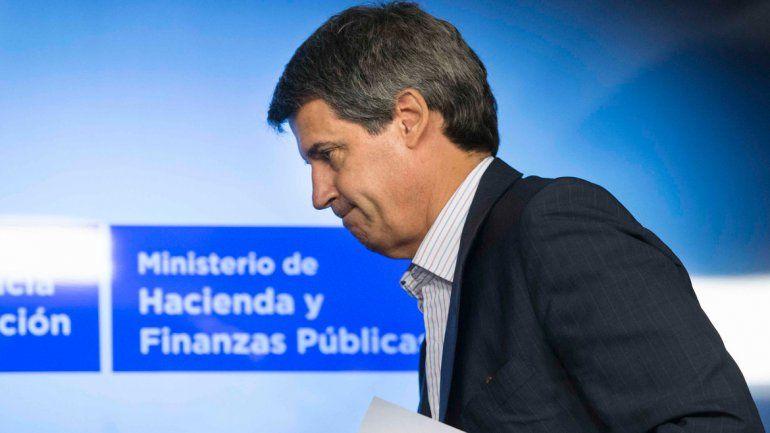 El ministro de Hacienda