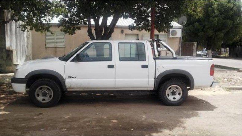 La camioneta había sido robada en Leguizamón y 12 de Septiembre.