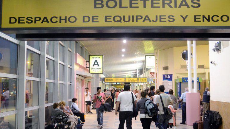 100 mil pasajeros pasaron por la ETON en enero