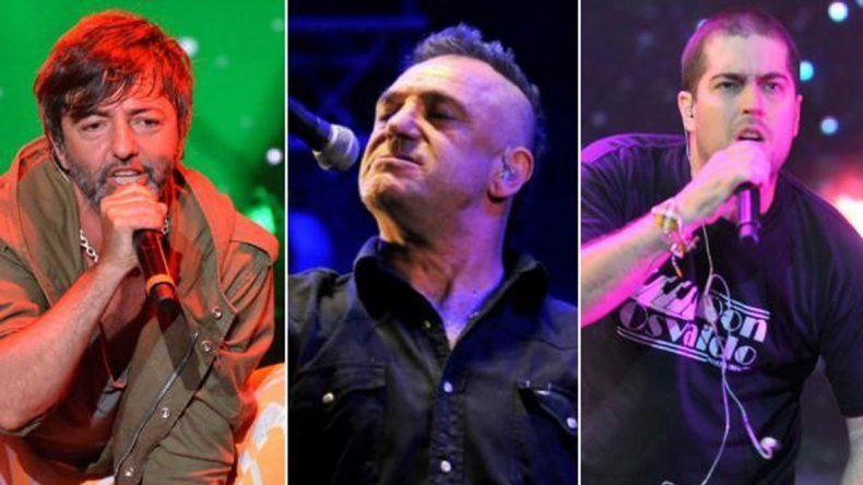 Las bandas más reconocidas del rock nacional estarán en el escenario.-