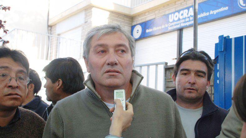 Víctor Carcar asegura que el ambiente en la UOCRA es de normalidad.