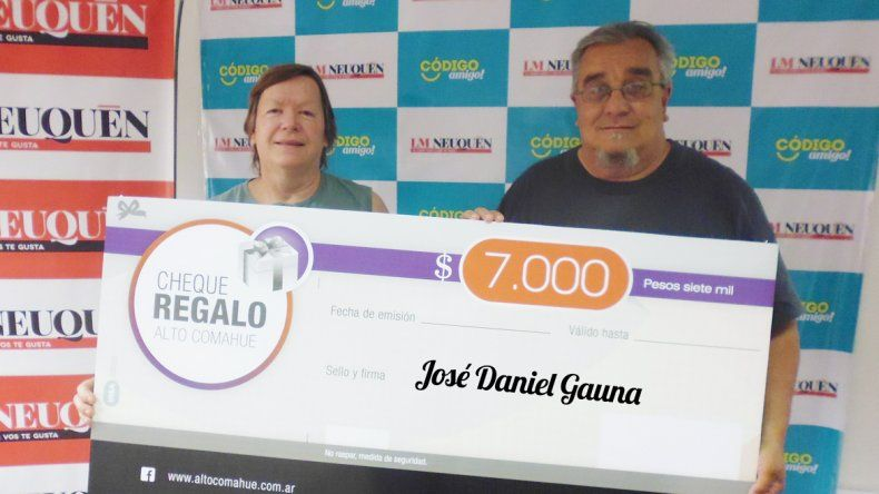 José Daniel Gauna.