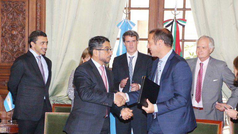 Gutiérrez dijo que el proyecto hidroeléctrico significa un paso adelante en la diversificación económica y productiva.