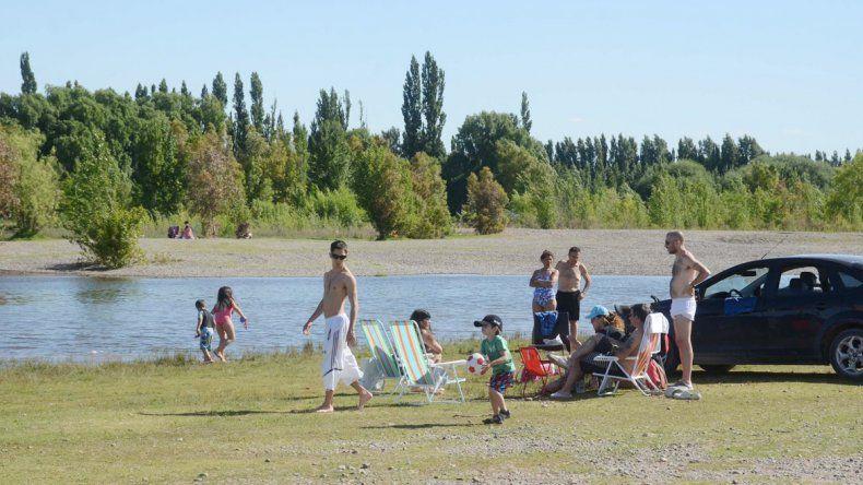 El balneario La Herradura