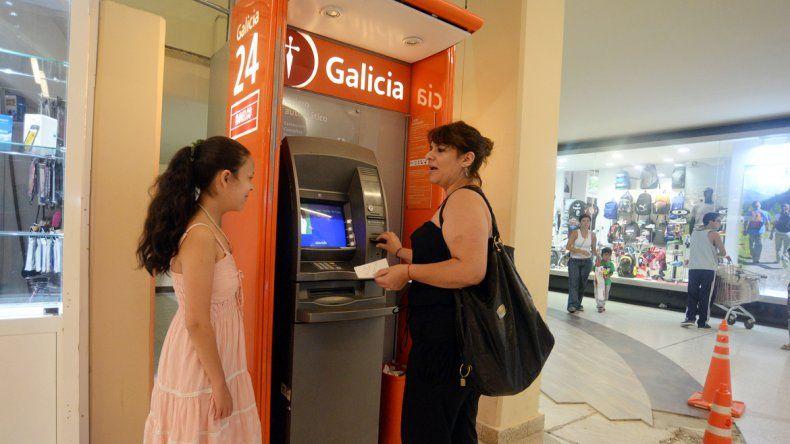 La demanda se extendió también en los shoppings y supermercados.