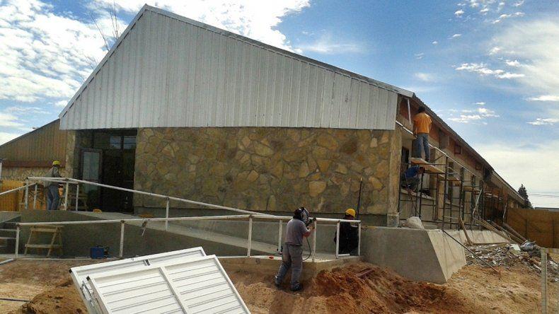 El colegio de Cutral Co tendrá 230 metros cuadrados más.
