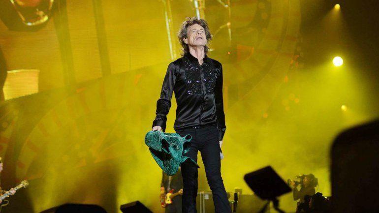 Jagger no paró en todo el show y dio una clara muestra de cómo se baila con Midnight Rambler.