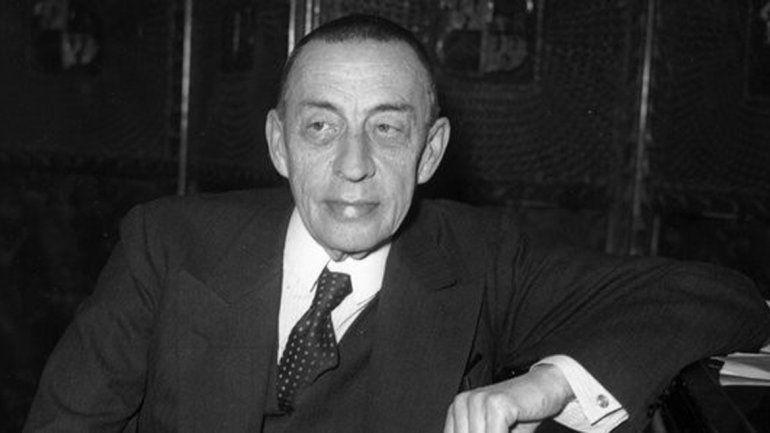 Serguei Rajmaninov fue expulsado de Rusia en 1943.