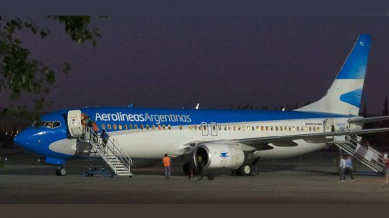 Con Aerolíneas se reactivará el corredor petrolero