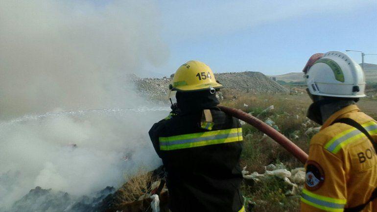 Se incendió el Basurero Municipal de Junín de los Andes