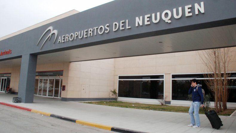 Aeropuerto de Neuquén.