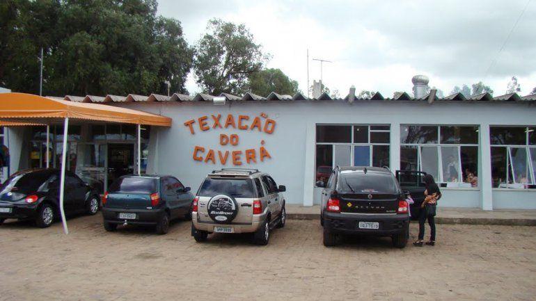 La estación de servicio de Alegrete