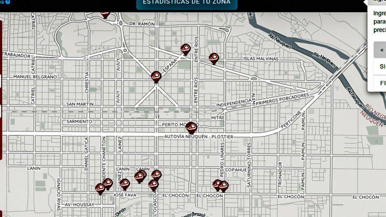 El mapa ha tenido una gran difusión entre los consumidores argentinos.