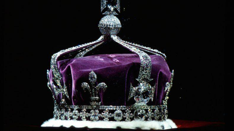 El diamante fue usado por última vez en una corona en 1953.