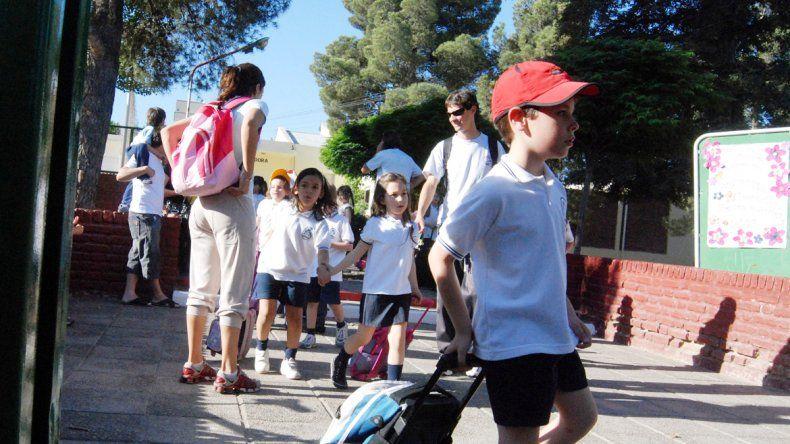 Algunos directivos coinciden en que muchos padres se volcaron al ámbito privado por los paros en las escuelas