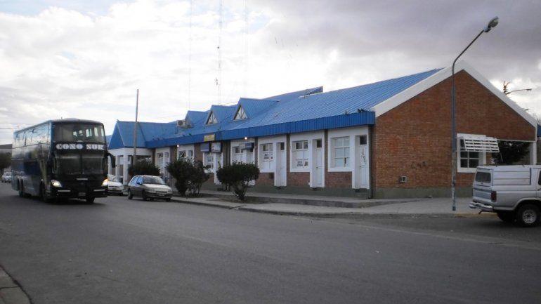La terminal de micros donde se produjo el ataque a la chica china.