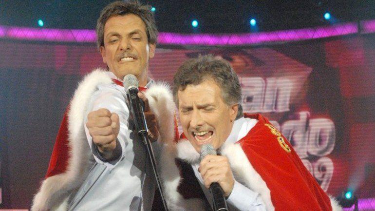 Juntos. Será la primera vez que Bossi y Fátima trabajarán en TV.
