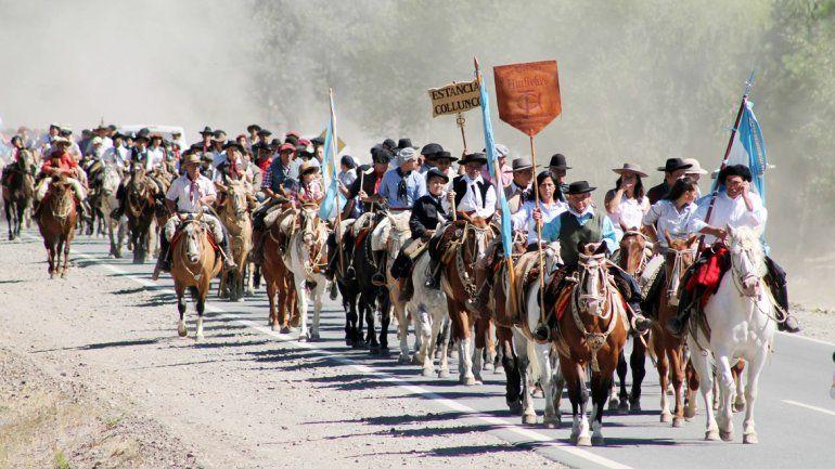 Junín de los Andes vive a pleno este tradicional festejo.