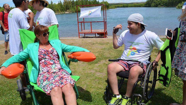 Ferracioli: La inclusión también debe llegar a los balnearios